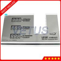 Ls181 태양 광 필름 전송 측정기가있는 창 색조 측정기 3 in 1 기능 ir 950nm uv 365nm vl 550nm 거부 시험기