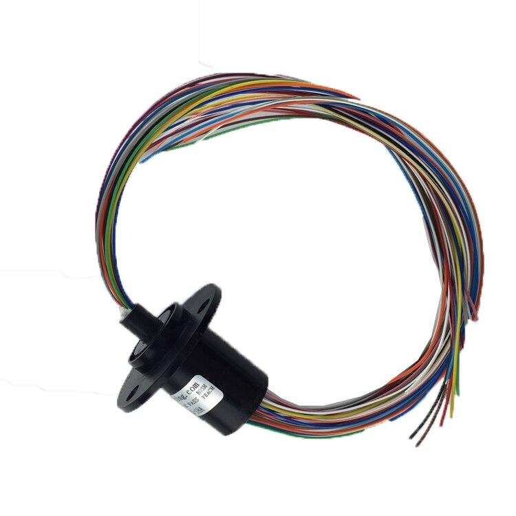 Уплотнительное кольцо 18 путь Диаметр 22 мм коллектор кольцо проведения фазным мониторинга, этап лампа, поворотный стол фазным Кисточки