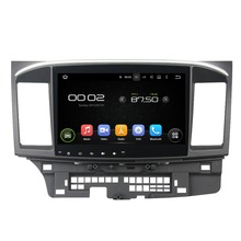10.1″ Android 5.1 GPS Navigation Car Multimedia Player For MITSUBISHI LANCER 2015 Touch Screen Car Stereo Video Audio Free MAP