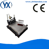 SMT Screen PCB Manual Cylindrical Screen Printer 240 300mm Small Size