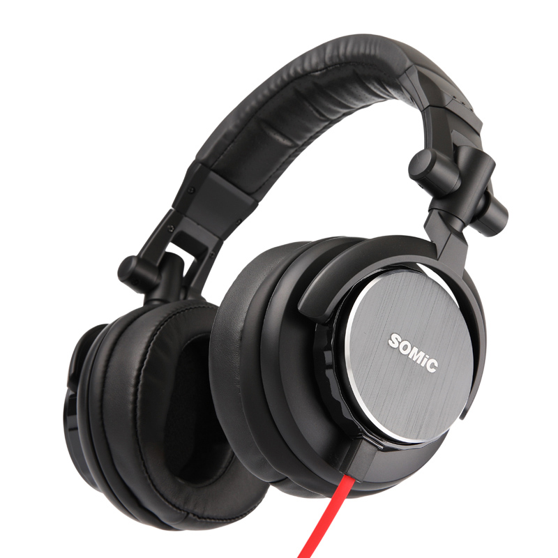 Somic MM185 Foldable Over Ear Headphone Virtual Surround Sound Bass Hi Fi Stereo Isolation Headset for