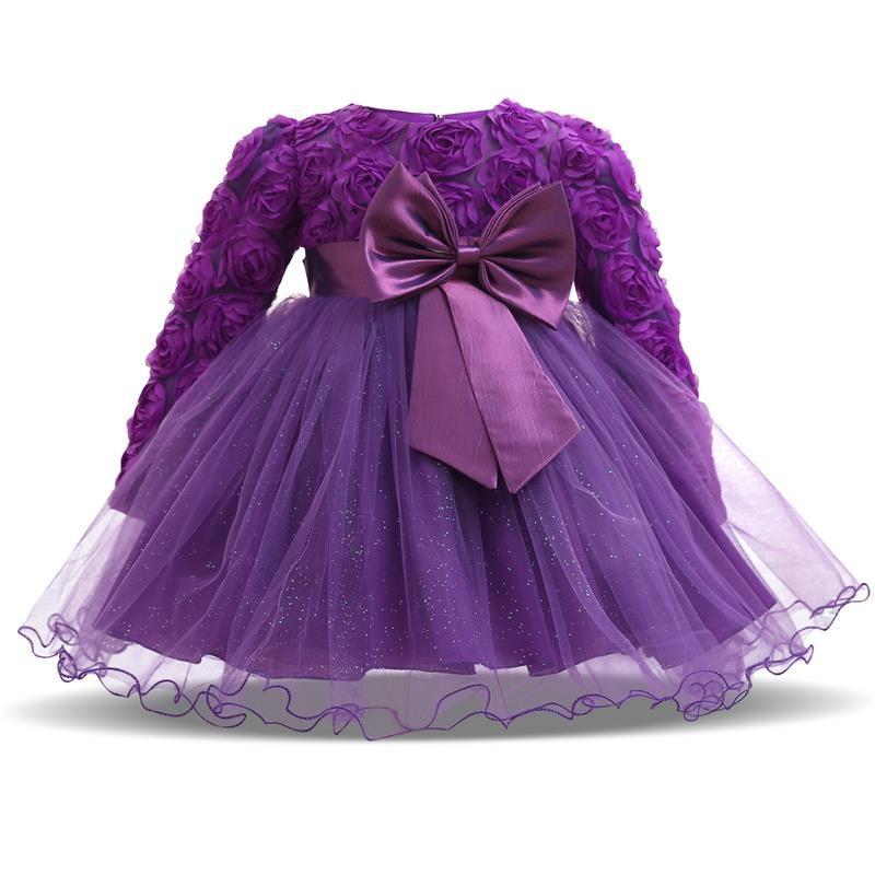 Bonito Vestidos De Partido De Los Bebés Molde - Vestido de Novia ...