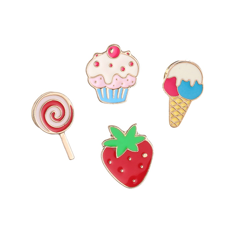 Hoomall Kawaii Metal Badges On Backpack Icons Kids Jeans Cute Brooches Safety Pins For Clothes Decoration Badges DIY Craft