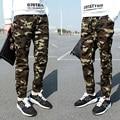 Большой Размер M ~ 3XL Мужские Бегунов Весна Армия Случайный Гарем Брюки Мужчины Тощие Камуфляжные Штаны Модные Военные Брюки Горячие