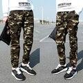 Grande Tamanho M ~ 3XL Corredores Dos Homens Primavera Harem Pants calça Casual Homens Magros Calças de Camuflagem Do Exército Moda Calças Militares Quente