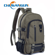 Chuwanglin canvas backpack men's travel backpack casual school bags fashion male Daily backpacks unisex student bag A1715