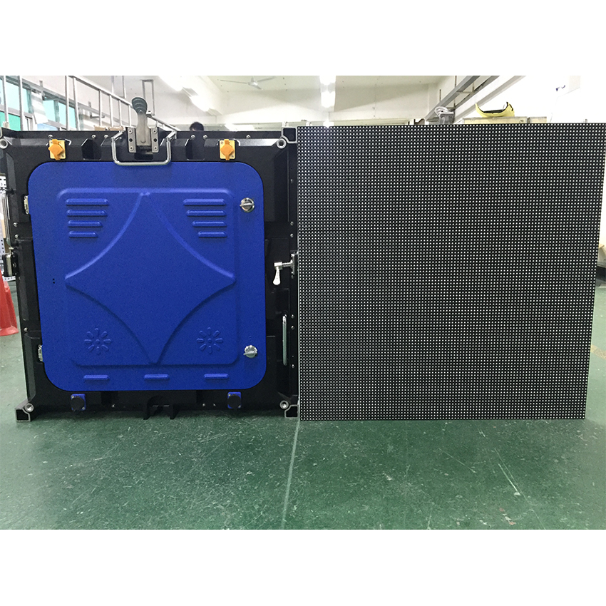 6pcs Outdoor P3mm 576x576mm Led Display Screen Die Casting Aluminum Cabinet, 192x192dots Rental Led Video Wall TV Panels