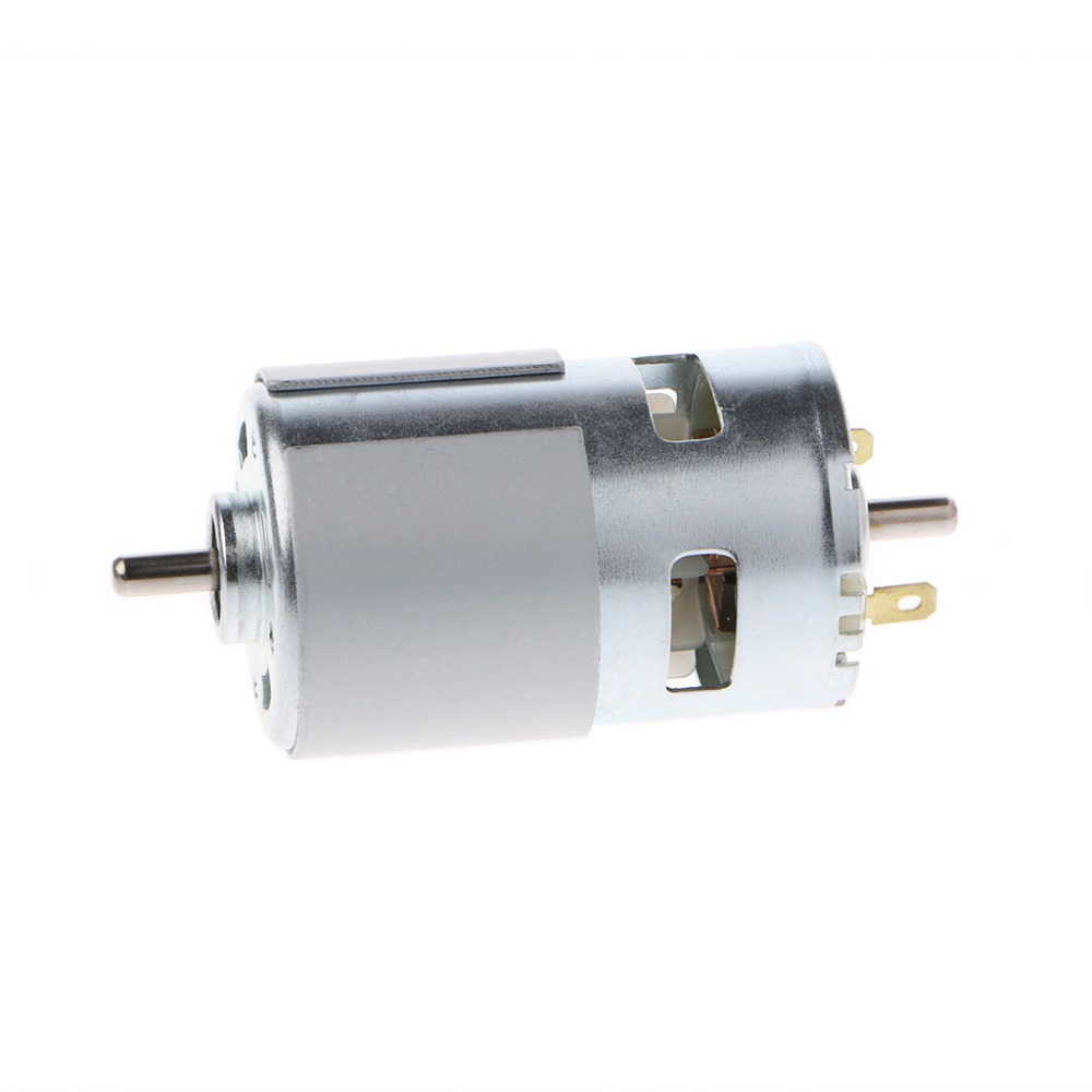 775 DC 12V-24V 3500-9000RPM Motor Ball Bearing Large Torque High Power Low Noise large torque high power motor 775 dc motor 12v 300w 18500 rpm diy