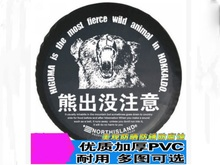Free shipping Factory direct sale PVC car spare wheel cover spare tire cover RF Ta 06