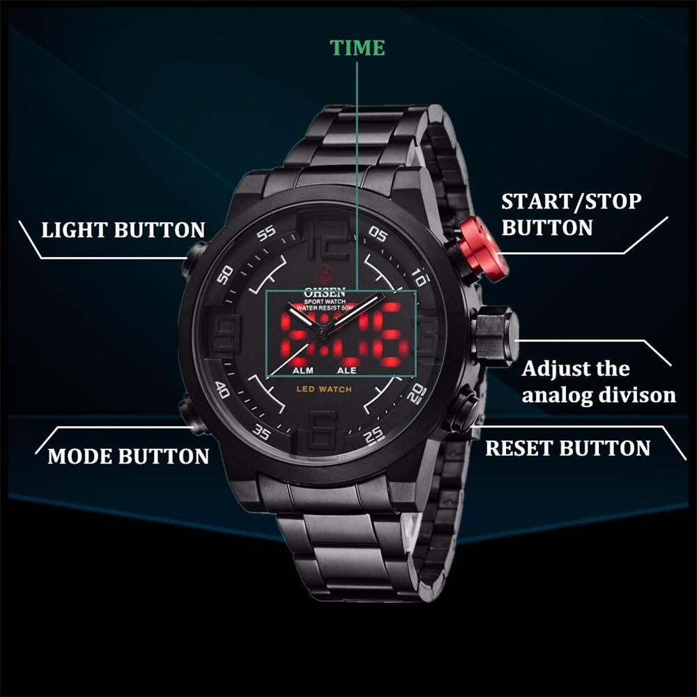 New Watch Men's Military Watches Sports Quartz Wristwatches (11)