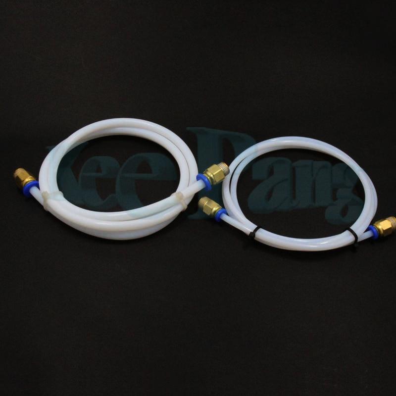 1M PTFE Tube Teflon PiPe Connectors as 3D Printers Parts For Filament Bowden Extruder 1