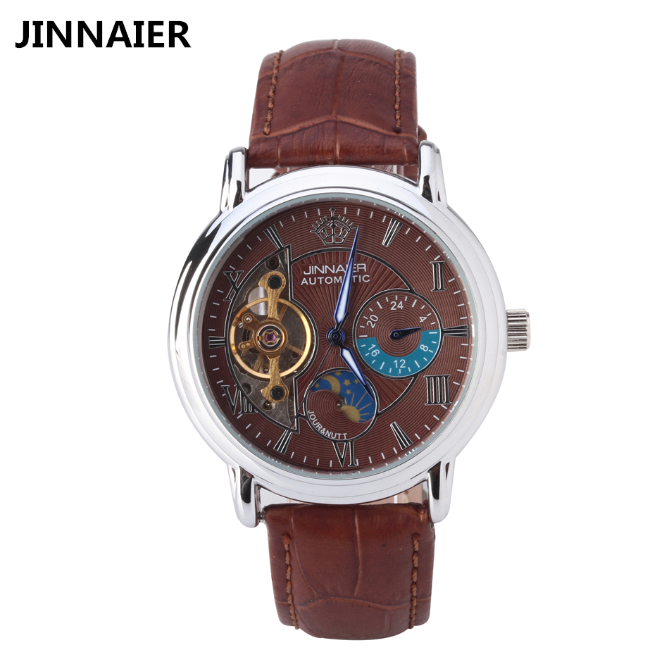 Mens leather strap automatic skeleton mechanical watch men fashion casual business quartz wrist watches clock montre homme reloj tian wang leather strap automatic mechanical watch for business casual men with ss see through case back gs5789s d