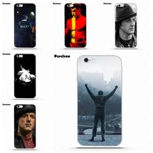 Perciron Rocky Balboa film motywacja dla iPhone X 4 4S 5 5C SE 6 6 S 7 8 Plus Galaxy s5 S6 S7 S8 Grand rdzeń II Prime alfa(China)