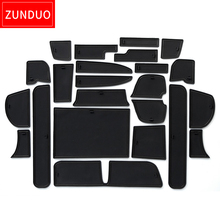 ZUNDUO Gate slot pad  For HONDA FREED 2016 GB5/6/7/8/ Japan in southeast AsiNon-slip mats Interior Door Pad/Cup red/white/black