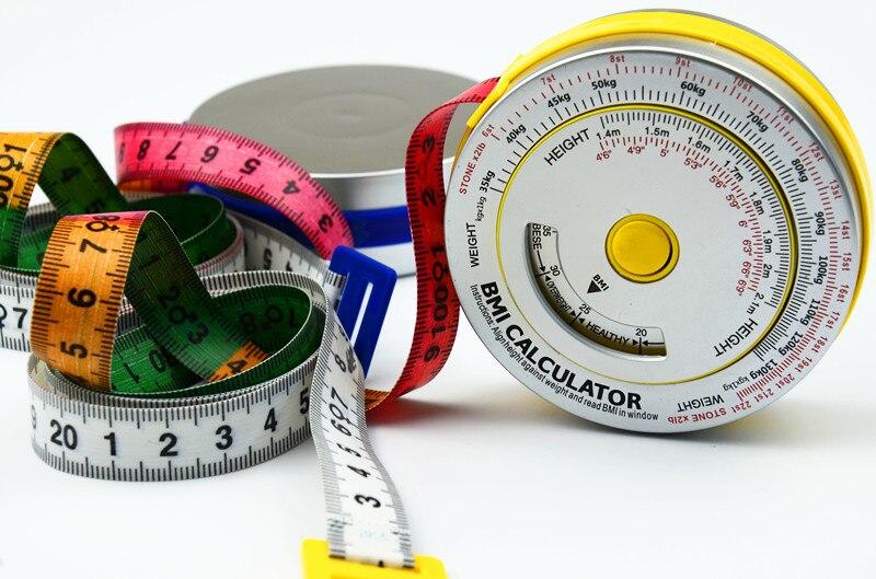 0-150 мм алюминиевая BMI рулетка BMI лента для измерения тела BMI какао 5 шт./партия