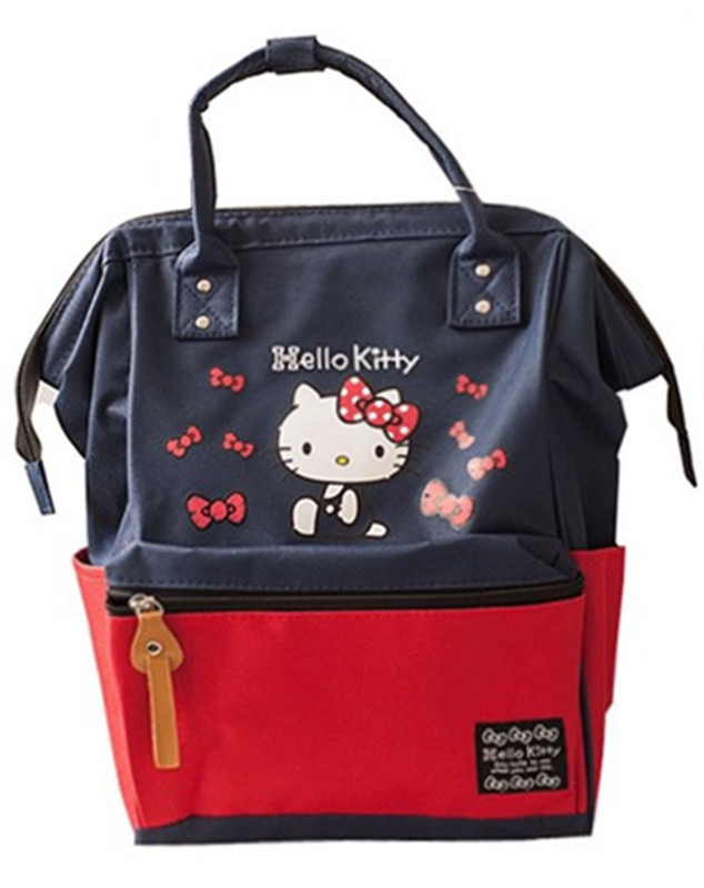 bf8ec9875756 Detail Feedback Questions about Cute Cartoon Chip Dale Hello Kitty Oxford  Backpack Girls Schoolbag School Backpacks Children School Bags Wide Opening  Laptop ...