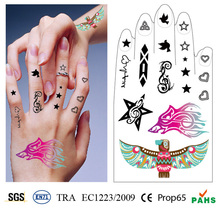 Fashion Temporary Body Stickers Tattoos Or Body Temporary Tatoo Waterproof DIY Body Art Stickers