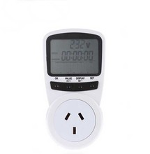 New AU Plug Socket Energy Meter Electricity Watt Voltage Amps Usage Frequency Monitor Analyzer Power Manage nwt500 bnc frequency sweep analyzer amplitude frequency meter dc12v 50k to 550m usb interface