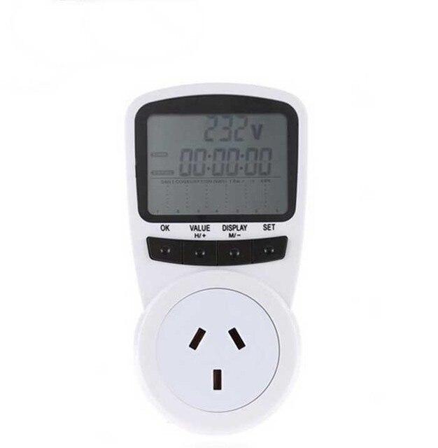 Neue AU Steckdose Energiezähler Strom Watt Volt Ampere Nutzung ...