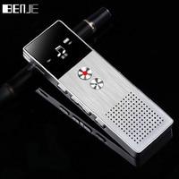 BENJIE 8GB Mini Flash Digital Voice Recorder Dictaphone MP3 Music Player Gravador De Voz Support TF