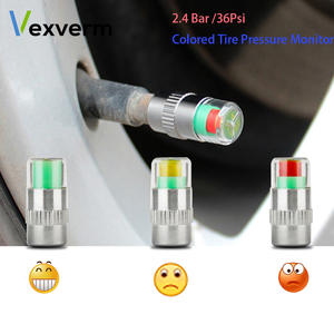 Vexverm 36PSI 4 PCS Car Auto Tire Pressure Monitor Valve