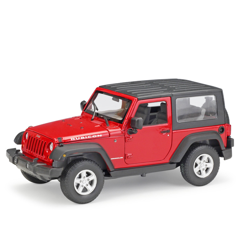 Welly 1:24 Jeep Wrangler 2007 Diecast Alloy Model Car Toy Car Model Vintage Car hot sale ford mustang police 1 18 welly s281 original alloy car model toy matte black fast