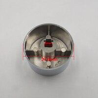 Поворотный переключатель детали для газовой плиты плита ручка газовой плиты нержавеющая сталь круглая ручка для газовой плиты 1 шт.