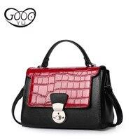 İnek Deri yapılan çanta taş desen dekorasyon ile yüklü can kozmetik telefonu kadınların çanta ve cüzdan ve diğer öğeler