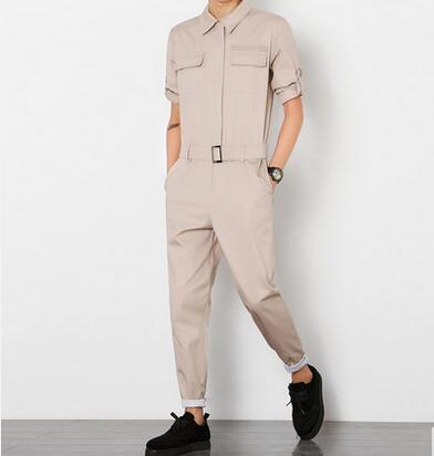 Herren Baumwollmaterial Enge Hosen Set von schlanken Hosen männliche - Herrenbekleidung - Foto 3