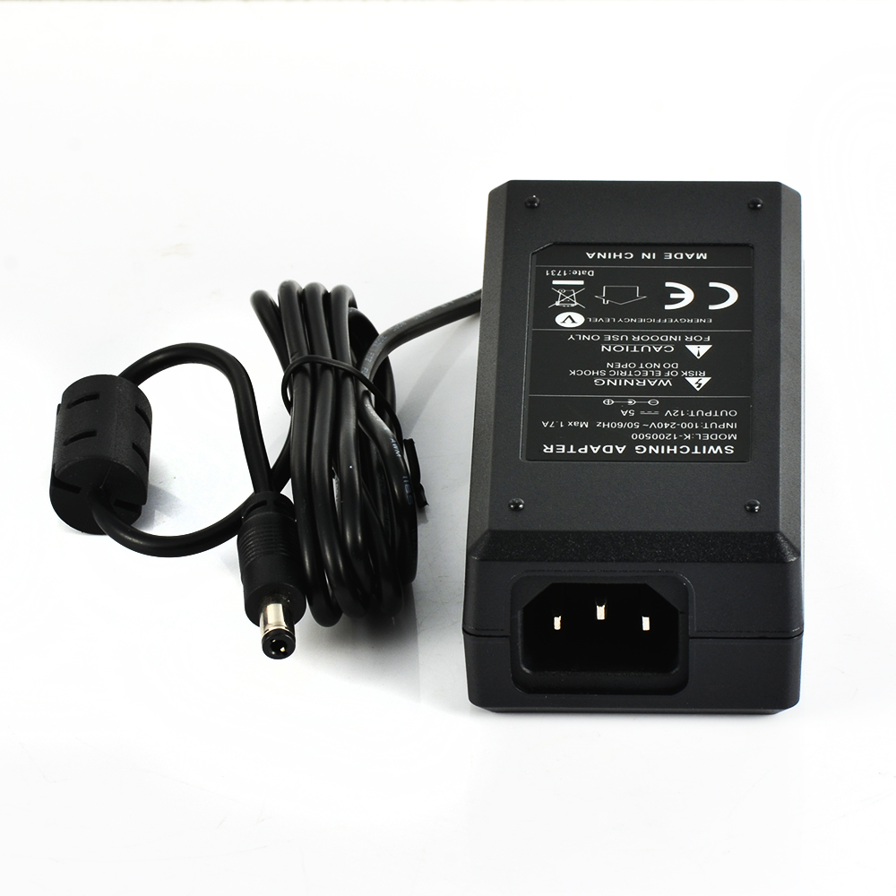 US $9 8 |K SZPOWER 12V 5A 60Watt CE Approved 2 Pin Power Supply Dsktop  Ac/Dc Power Adapter 12V 5A LG Monitor Power Adapter -in AC/DC Adapters from