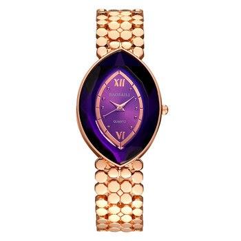 BAOSAILI брендовые Золотые женские наручные часы в форме глаз, женские часы, часы Montre Femme