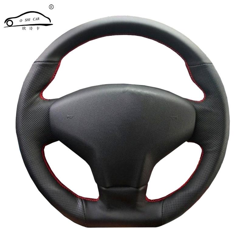 Trança para Citroen Elysee volante C-Elysee 2014 Novo Elysee Peugeot 301 2013-2016 Peugeot 206 2007 /volante cobre