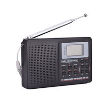 Portable Digital World Full Band Radio Receiver AM/FM/SW/MW/LW Radio with External Antenna DU55