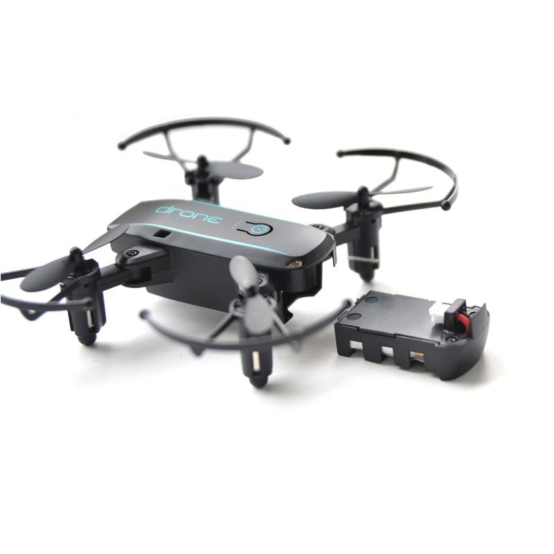 1601 Mini Quadcopter 720P Foldable Drone With Camera HD Real Time Video Headless FPV Quadrocopter WIFI RC Helicopter Квадрокоптер