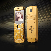 Get more info on the MAFAM A8 Russian Arabic Spanish French Vibration Luxury Metal Body Car Logo Dual Sim Mobile Phone with Leather Case Gift P234