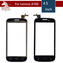 4.5 For Lenovo A760 A 760 LCD Touch Screen Digitizer Sensor Outer Glass Lens Panel Replacement 4 5 for lenovo a516 a 516 lcd touch screen digitizer sensor outer glass lens panel replacement