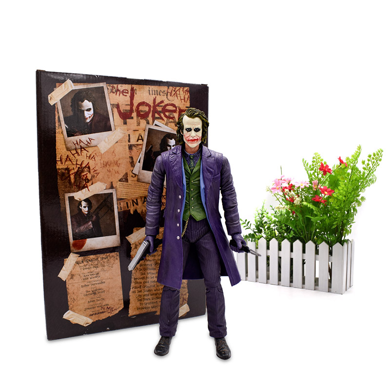 "12""30 cm NECA The Batman Brinquedos Articular Movable Joker Action Figure Venom PVC Collectible Model Toys Kids Gifts"