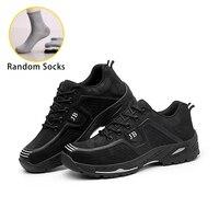 XZMDH дропшиппинг мужские и женские защитные ботинки уличные модные мужские туфли водостойкие проколы рабочие кроссовки