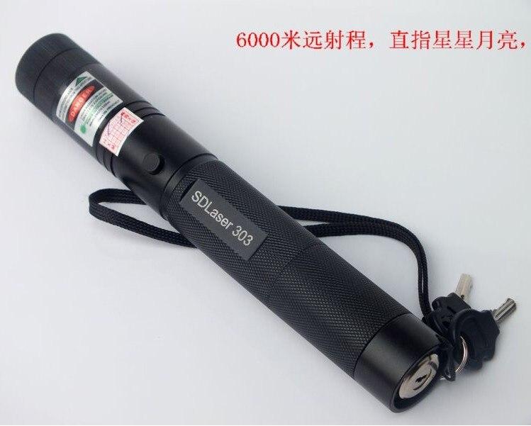 Hot! NOUVEAU Vert pointeurs laser 500000 mw 532nm SOS Torche Brûlant SD laser 303 Lazer présentateur Graver Matchs & Cigarettes Légères