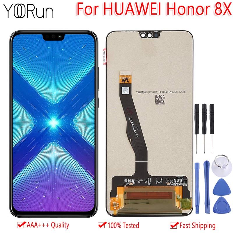 Original 6.5 For Huawei Honor 8X JSN-L21 JSN-L42 JSN-AL00 JSN-L22 LCD Display Touch Screen Digitizer Assembly Replacement PartsOriginal 6.5 For Huawei Honor 8X JSN-L21 JSN-L42 JSN-AL00 JSN-L22 LCD Display Touch Screen Digitizer Assembly Replacement Parts