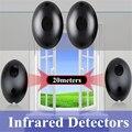 2 шт./лот 20 м активный фотоэлектрический одиночный инфракрасный луч  инфракрасный датчик  Детектор барьера для двери  окна  системы охранной ...