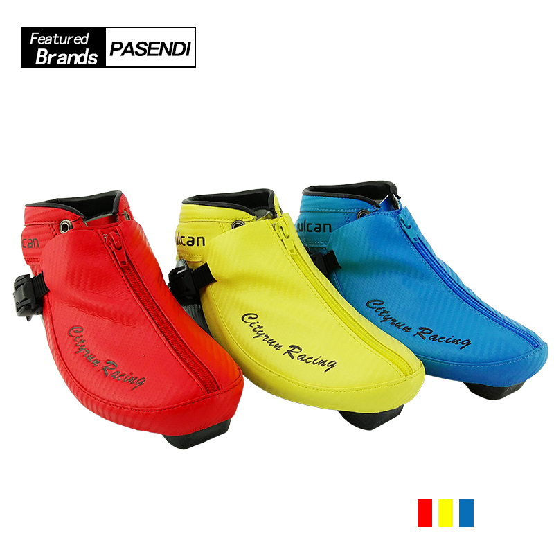 Professional Carbon Fiber Speed <font><b>Skate</b></font> Shoes Adults/Child Roller <font><b>Skates</b></font> Boots Advanced Inline Skating Blue Yellow Red Black Shoes