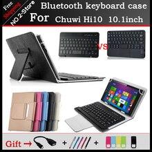 Портативный беспроводной Клавиатуры Bluetooth Чехол Для Chuwi Hi10 10.1 дюймов Tablet PC, chuwi hi10 bluetooth клавиатура Бесплатная доставка + подарок
