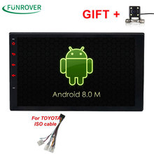 2017 New Funrover Android 8 0 Quad core 2g 32g Rom font b Car b font