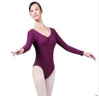 New Women Gymnastics Leotard 6 Colors Adult Ballet Leotard For Practice Lady Ballet Clothing Spandex Material