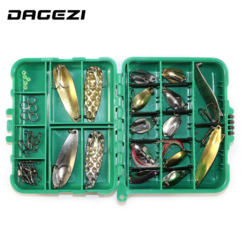 DAGEZI 37pcs/set Mixed soft baits hard fishing lure set Fishing accessories fishing tackle box 13 lifelike earthworm style fishing baits 5 pcs