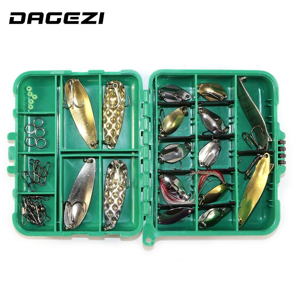 DAGEZI 37pcs/set Mixed soft baits hard fishing lure set Fishing accessories fishing tackle box 13 dynamite baits конопля консервированная dynamite baits