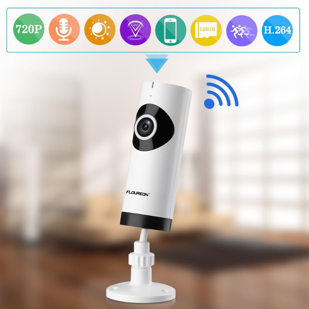 bilder für FLOUREON 720 P HD Wireless Network Überwachung Cctv-kamera WIFI Ip-kamera Babyphone Kamera Recorder