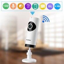 FLOUREON 720P HD Беспроводной IP Камера WI-FI видеонаблюдения безопасности Камера двухстороннее аудио Видеоняни и радионяни рыбий глаз IP Камера