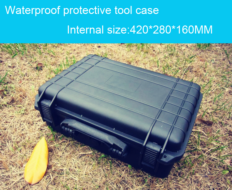 ФОТО trolley Tool case toolbox travel case Impact resistant sealed waterproof camera case protect equipment  with pre-cut foam lining